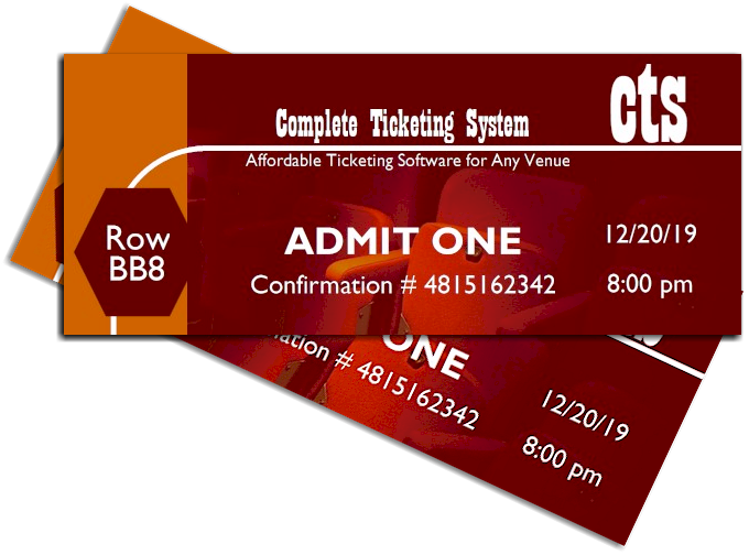 The Complete Ticketing System is the affordable ticketing software for any venue.
